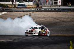Kristaps Bluss earned 95 points in qualifying at Formula Drift New Jersey, Photo by Larry Chen