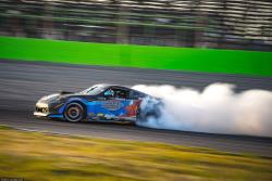 George Kiriakopoulos qualified 11th at Formula Drift Orlando, but would have to retire early
