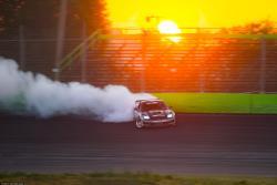 Formula D Pro 2 driver Dirk Stratton drifts at Orlando Speedworld, Photo by Valters Boze