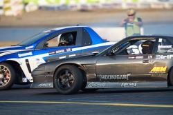 Hughes took out Josh Robinson in the FInal 4 of the Pro 2 event at Evergreen Speedway