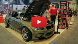 Kristaps Bluss Showed His BMW E92 Eurofighter in the Motul Booth at SEMA 2017