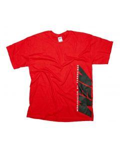 01-1304-S AEM T-Shirt; AEM Classic, Red - S
