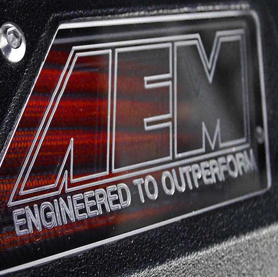 AEM Power 22-408R Air Intake Red Powdercoated Tube Red Filter Kit