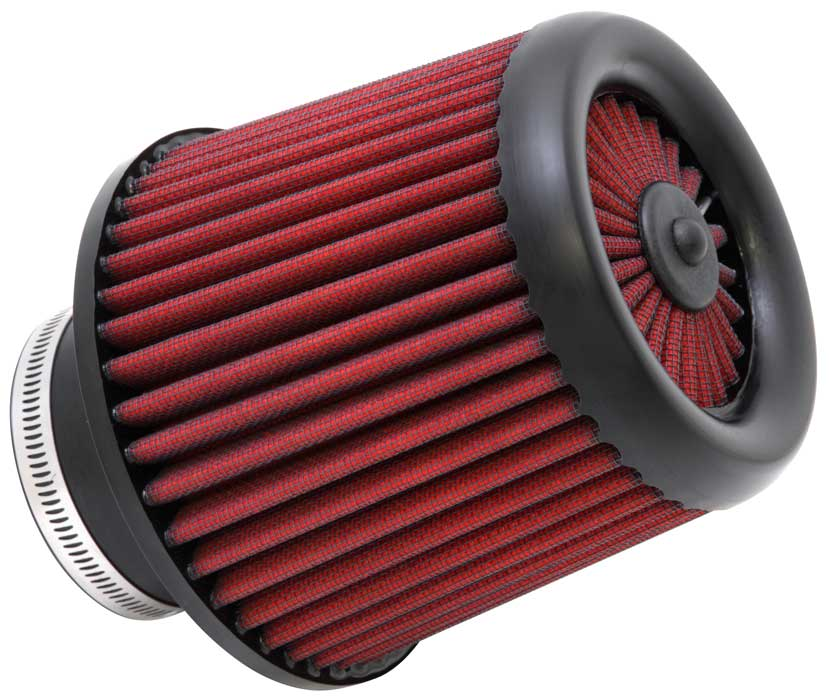 RED Universal Inlet Air Intake Cone Open Top Dry Replacement Filter For BMW