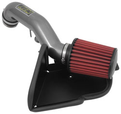An AEM 21-802C Cold Air Intake boosts horsepower on the 2015-2016 Audi A3 2.0T