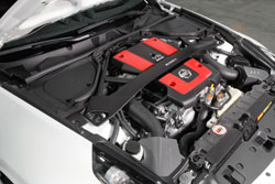 The large AEM air boxes accomodates oversized Dryflow air filters for increased power