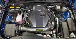 AEM intakes are designed to reduce intake restriction as they smooth and straighten air flow