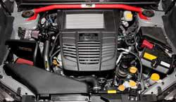 Reduce chassis flex in the VA WRX & VA WRX STi with an AEM strut bar