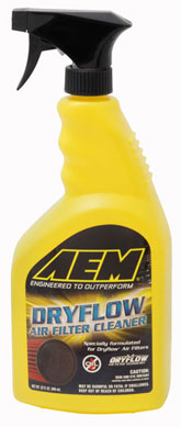 AEM Dryflow Synthetic Air Filter Cleaner