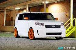 Custom Scion xB owned by Young Tea