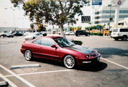 Another custom project for Young Tea was this '94 Acura Integra