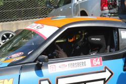 Forsberg preparing for his heat at Road Atlanta