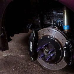 Rotora brake caliper & rotor subaru wrx