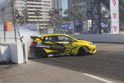AEM-sponsored Fredric Aasbo brings out the new Corolla iM at Streets of Long Beach