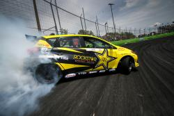 Fredric Aasbo's Rockstar Energy Drink Toyota Corolla iM drifts the Orlando Speedworld course