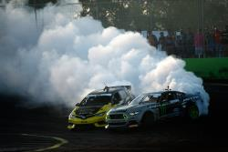 Fredric Aasbo eliminated Vaughn Gittin Jr. in the Top 4 en route to the event win