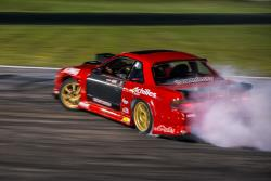 Travis Reeder drifts the keyhole at Road Atlanta en route to his event win at Formula D Round 2
