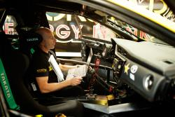 Papadakis still personally reviews data from runs in the Corolla iM Photo Larry Chen/Toyota Racing