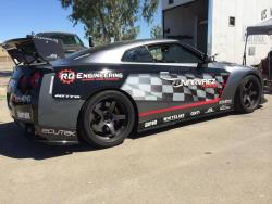 R35 Nissan GTR modified by Narvaez Racing