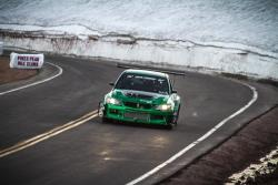 Roy Narvaez finished 12th in the Time Attack 1 class at the 2017 Pikes Peak Hill Climb